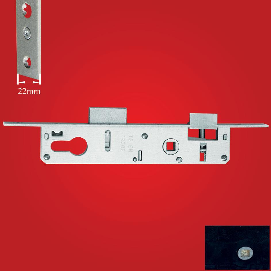 Alüminyum Silindirli Kapı Kilidi 25-85mm ÇELİK