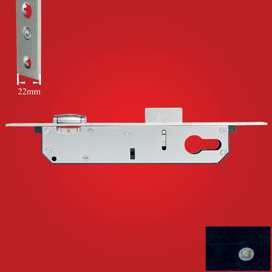 Aluminyum Makaralı Kapı Kilidi 25-85mm